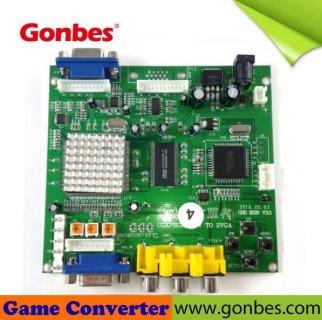 MikesArcade com - CGA / EGA / YUV / RGB To VGA Video Converter