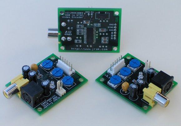 RGB to TV convertor - RGB to NTSC & PAL video encoder View Tv Converter Wiring Diagram on